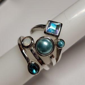 Lia Sophia Comet Ring (retired)